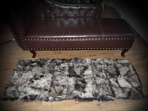 fell teppich grau deko lammfell bunte schaffell teppiche fellteppich hochwertig lufer grau u. Black Bedroom Furniture Sets. Home Design Ideas